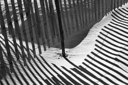 Beach Fences 5267 by Bob Neiman