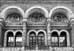 V&A Museum Courtyard by Karen H. Colbert