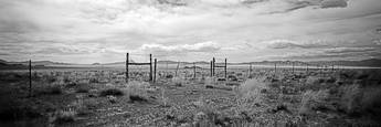 Nevada Fences by Kevin Schwarte