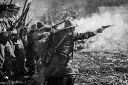 Civil War Reenactment 1 by Jim Shoemaker
