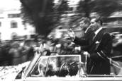 Fading Away—JFK in Mexico by Michael Gaylord James