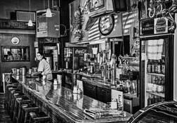 Rt 66 Diner by Bob Baker