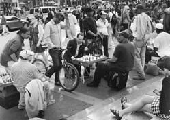 Chess Match by Bruce B. Barshop