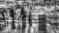 Faces In The Crowd 6 by Carl Rubino