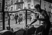 Place de la Contrescarpe by Mark Caceres