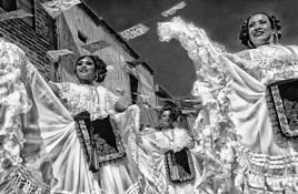 Fiesta Dancers by Jill Flyer