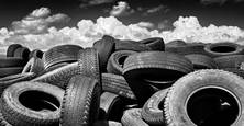 Tire Mountain by Chuck Kimmerle