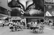 Nonchalance-Times Square by Bruce B. Barshop