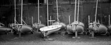 Sail School Yard by M. E. Sipe