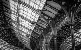 Railway Station by Delaney Turner