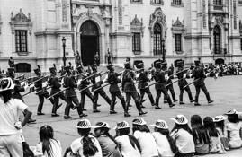 Marching for Fujimori by Steve Spehar