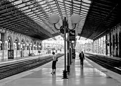 Gare de Nord by Leslie J. Yerman