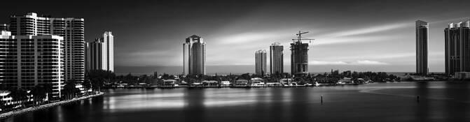Sunny Isles Skyline by Steven Greenbaum