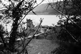 Urquhart Castle by Franklin G. Moser