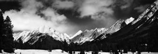Winter Mountains by James Burton