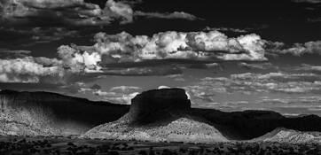 Western Landscape #4 by Paul Elliott