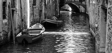 Venetian Canal by John R. Kuhn, Jr.