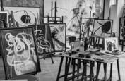 Joan Miro studio by John P. Lewis
