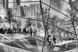 9-11 Memorial by Barbara Warren