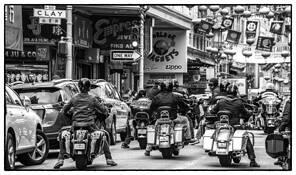 Joy Riders in Chinatown by Rodney Gene Mahaffey