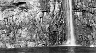 Taughonnack Falls by James N. Vedder