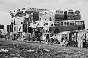 Junk Buses by Robert M. Currier