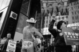 Trump Rally by Jim Lustenader