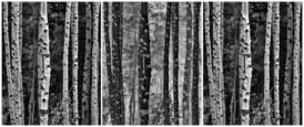 Triptych Trees Reverse by Tony Hertz