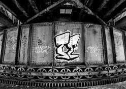Bridge Detail #1 by Bill Dixon