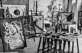 Joan Miro Studio by John P. Lewis