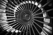 Tower Stairwell by Gary Cook