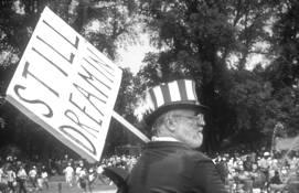 MLK JR 30th Anniversary March Still Dreamin' by J. Michael Skaggs