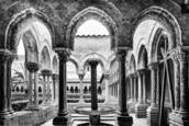 Benedictine Cloister by Doug Testa