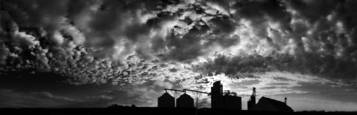 Grain and Clouds by Gerald Shonkwiler
