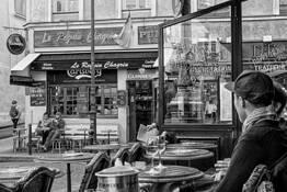 Place de la Contrascarpe by David W. Goodrich