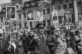 Great Patriotic War Parade by Linda Omelianchuck