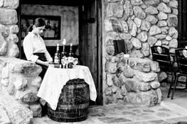 Waiting Waitress by Aaron Marko