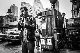 86th Street Man by Fatforehead