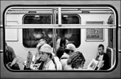 Subway Riders by David Lykes Keenan