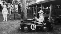 Junior Driver in his Austin J40 Race at the Goodwood Revival by Doug Mayhew