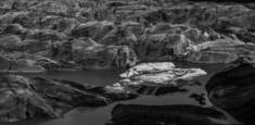 Melting glacier by Steve Murray