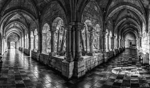 Ancient Spanish Monastery by Steven Greenbaum