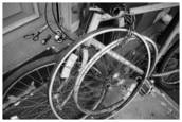 Bike Wheel by Gary Matson