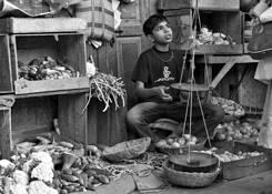 Selling Onions by Rick Kattelmann