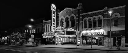 Michigan Theater by Mark J. Kushner
