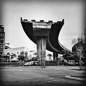 Foreshore Freeway Bridge by Gene Dominique