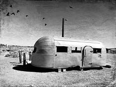 Old Airstream by Bob Ashley
