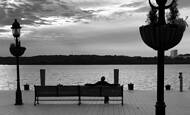 Potomac Silouette by Kathy Conway