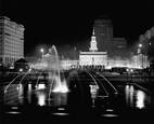 Independence Hall Sylvania Big Shot by Walter Pinkus
