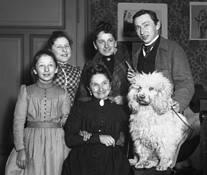 Family Portrait Selfie by Walter Pinkus